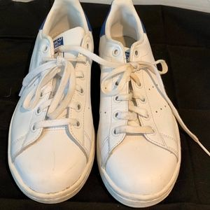 Adidas Stan Smith Men's Size 5 White Sneakers